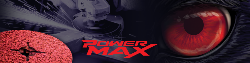 POWER MAX 9.3 ceramic fibre disc for grinding stainless steels