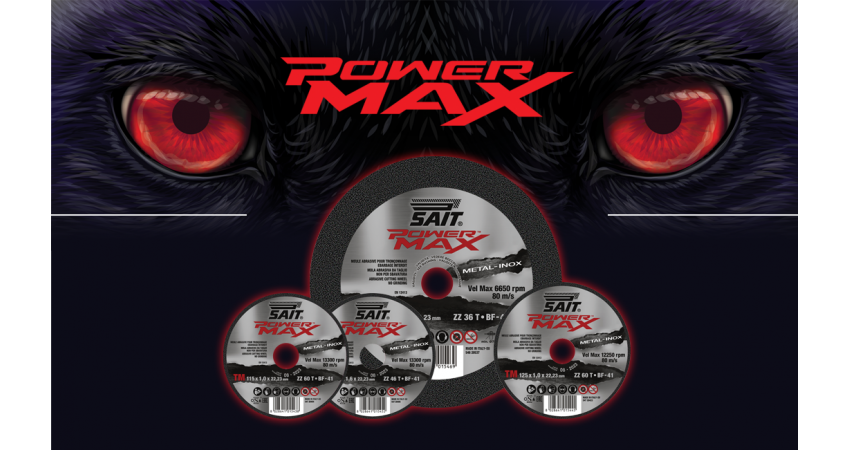 New! POWER MAX Cutting Wheels: User Friendliness Meets Aggressive Action